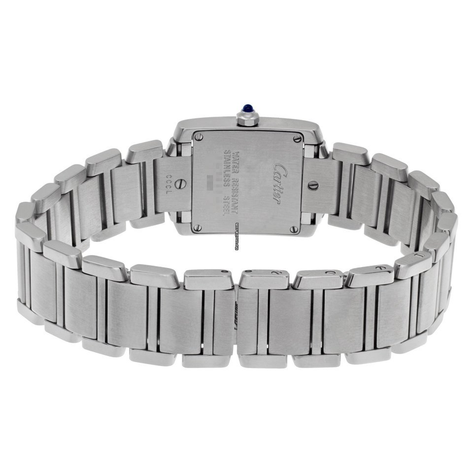 Cartier Tank Francaise w51008q3 stainless steel 35bcaf56ad