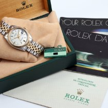 Rolex Steel 36mm Automatic 1601-SIL-LIN-JUB-BNP pre-owned