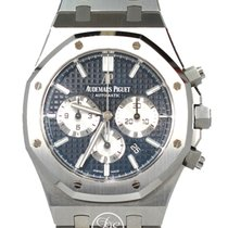 Audemars Piguet Royal Oak Chronograph Steel 41mm Blue No numerals United States of America, Florida, Boca Raton