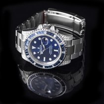 Rolex Submariner White gold 40mm Blue