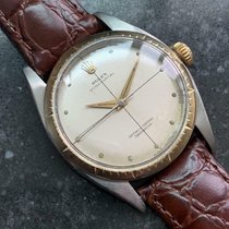 Rolex Chronometer 34mm Automatisch 1958 tweedehands Oyster Perpetual (Submodel) Champagne