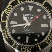 Certina pre-owned Automatic 43mm Black Sapphire Glass Over 120 ATM