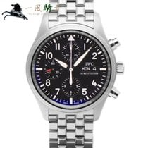 IWC Pilot Chronograph Steel 42mm Black United States of America, California, Los Angeles