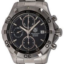 TAG Heuer Aquaracer 300M pre-owned 41mm Black Chronograph Date