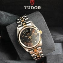 Tudor Prince Date M74033-0008 New Gold/Steel 34mm Automatic