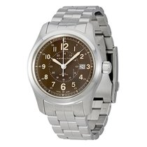 Hamilton Khaki Field Acier 42mm Transparent Arabes