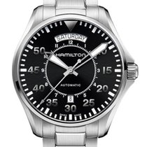 Hamilton Khaki Pilot Day Date Steel 42mm Black United States of America, New York, Brooklyn