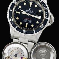 Rolex Submariner Date Aço 40mm Preto Sem números