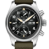 IWC Pilot Spitfire Chronograph new 2019 Automatic Chronograph Watch with original box and original papers IW387901
