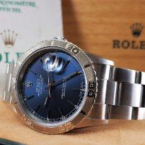 Rolex Datejust Turn-O-Graph Staal 36mm Blauw Geen cijfers Nederland, Drachten