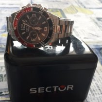 Sector Steel 50mm Automatic R3253161001-63027 pre-owned