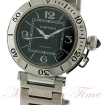Cartier Pasha Seatimer Automatic, Black Dial - Stainless Steel...