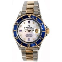 Rolex Submariner 16613 Stainless Steel and 18K Gold, Custom...