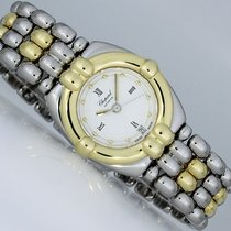 Chopard Gstaad Goud/Staal 24mm Wit Romeins