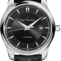 Carl F. Bucherer Manero Steel Black