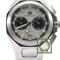 Girard Perregaux Hawk Chronograph Full Steel White NEW