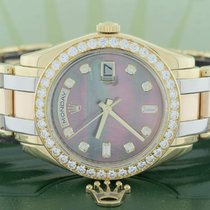 Rolex Tridor Masterpiece Special 39mm Factory Tahitian Diamond...