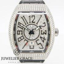 Franck Muller Vanguard Full Diamonds Pave Arabic
