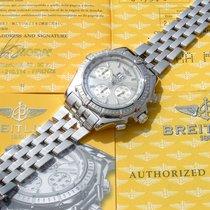 Breitling Crosswind Special J44355 Sehr gut Weißgold 43.7mm Automatik