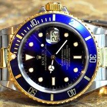 Rolex Submariner Date 18k Gold Steel with Box