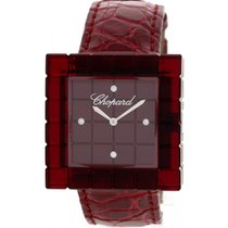 Chopard Plastic Quartz Red 31mm pre-owned Ice Cube