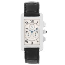 Cartier Tank Americaine (or American) Chronograph Men's Watch...