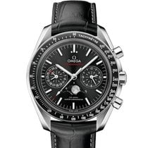 Omega Speedmaster Professional Moonwatch Moonphase Acier Noir France, Paris