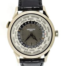 Patek Philippe World Time White gold 38.5mm Grey Arabic numerals United States of America, New York, New York