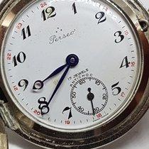 Perseo Stahl 46mm Handaufzug Perseo Poket Watch  Cal Unitas 6498 Diam Case 46mm + Crown gebraucht