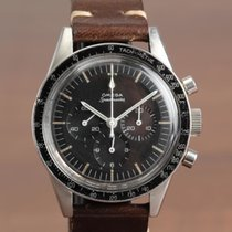 Omega Speedmaster Professional Moonwatch pre-owned 40mm Black Chronograph Leather