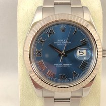 Rolex Datejust II 116334 Blue Dial / 41mm