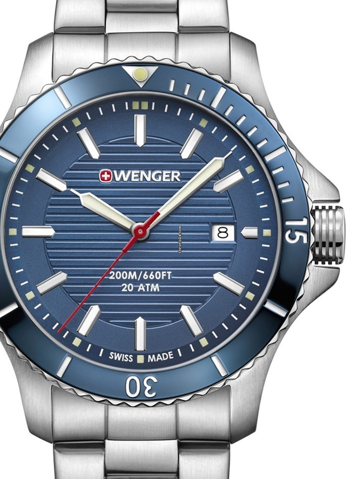 54494a50d8e483 Wenger watches - all prices for Wenger watches on Chrono24