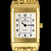 Jaeger-LeCoultre Reverso (submodel) Yellow gold 19mm Silver Arabic numerals