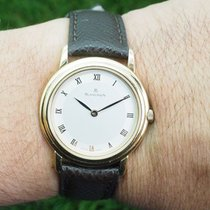 Blancpain Yellow gold 28mm Manual winding Villeret pre-owned