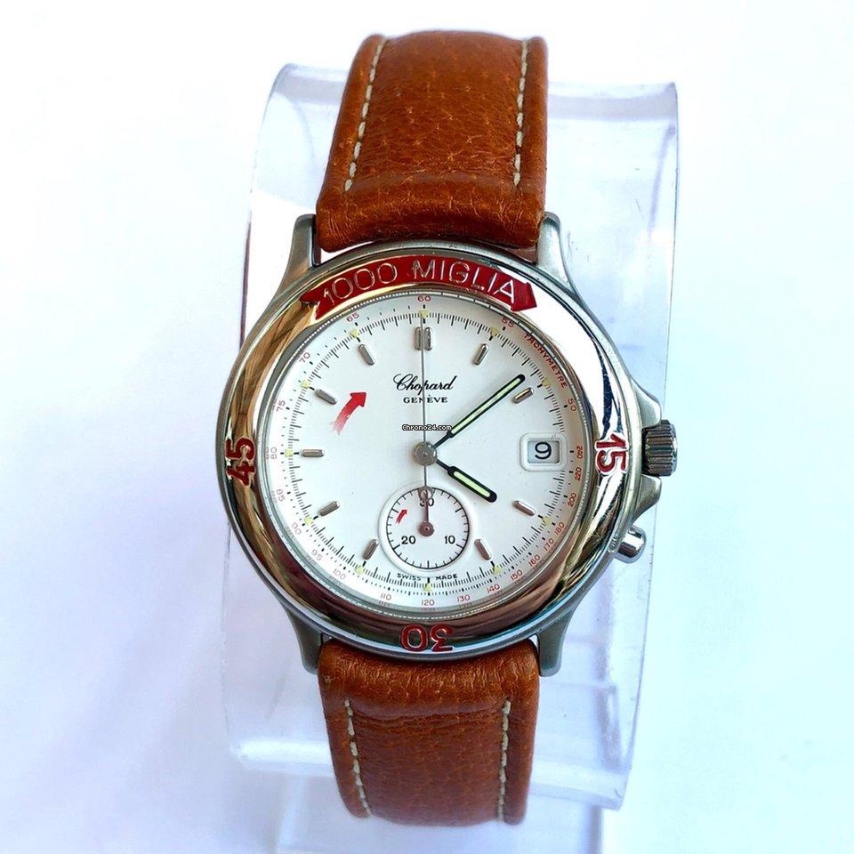 4ddf46989c0d2 Chopard 1000 MIGLIA Chronograph Steel Boys/Ladies Watch CHOPARD Band