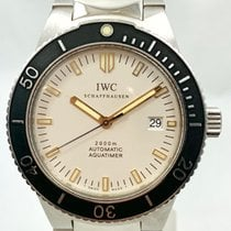 IWC Aquatimer Automatic 2000 pre-owned 42mm Black Steel