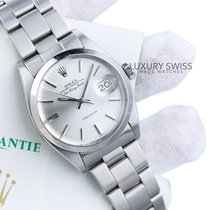 Rolex Air King Date Steel 34mm Silver No numerals United States of America, California, Los Angeles