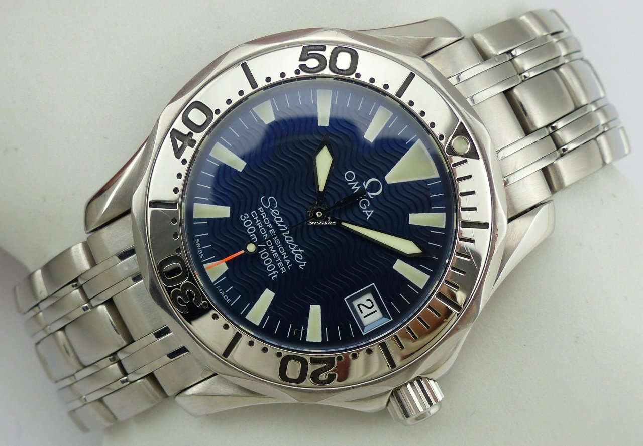 f9e0cd2c229 Omega Seamaster Professional 300m Chronometer - Jacques Mayol for ...
