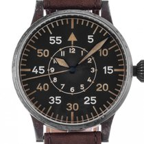 Laco Steel 42mm Black Arabic numerals