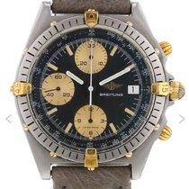 Breitling Chronomat Gold/Steel 36mm Blue No numerals