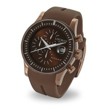 Locman Island Steel 40mm Brown