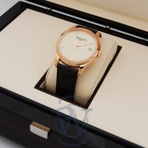 Patek Philippe Calatrava Rose gold 39mm Champagne No numerals United States of America, New York, New York