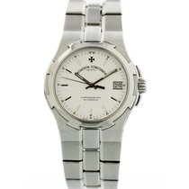 Vacheron Constantin Overseas pre-owned 37mm White Steel