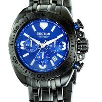 Sector Steel 48mm Quartz new