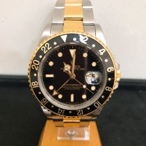 Rolex GMT-Master II 16713 Befriedigend Gold/Stahl 40mm Automatik