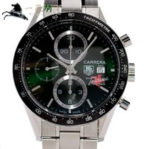TAG Heuer Carrera Calibre 16 Steel 41mm Green