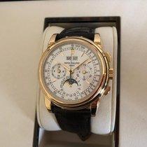 Patek Philippe Perpetual Calendar Chronograph Gelbgold 40mm Silber Schweiz, BASEL - Muttenz