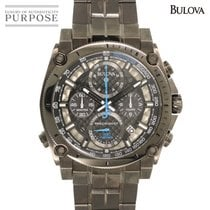 Bulova Precisionist Steel 46mm Black