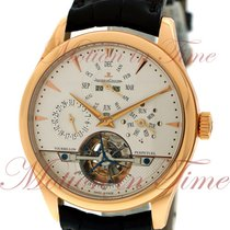 Jaeger-LeCoultre Master Grande Tradition Rose gold 42mm Silver No numerals United States of America, New York, New York