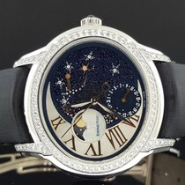 Audemars Piguet Millenary Ladies pre-owned 39.5mm Mother of pearl Moon phase Date Satin